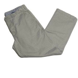 Cremieux Mens 33 x 30 100% Cotton Gray Casual Work